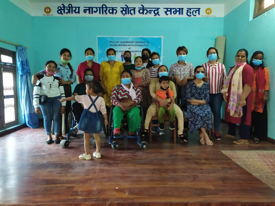 Group photo taken after the successful training in Makwanpur.